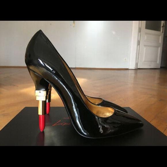 Alberto Guardiani Ladies Stylish Suede Lipstick High Heels In